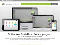 software de gestión para distribución, mnprogram