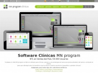 software para clínicas y centros médicos, MN program