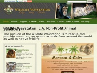 Wildlifewaystation.org - Wildlife Waystation | Non-Profit Animal Sanctuary | Los Angeles | Rehabilitation