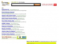 8-3-11.info: The Leading 11 Site on the Net