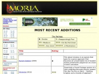 Moria.co.nz - Most Recent Additions. Moria - The Science-Fiction, Horror and Fantasy Film Review.