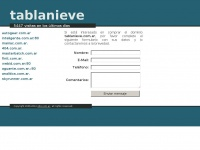 tablanieve.com.ar