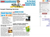 Welcome to www.0800CarpetCleaning.co.uk