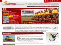 Matermacc.it - MaterMacc, agricolture equipment, seed drill, precision planter, subsoiler, sprayer