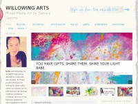 Willowing.org - Willowing Arts: Mixed Media Art by Tamara Laporte