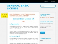 generalbasiclicense.wordpress.com