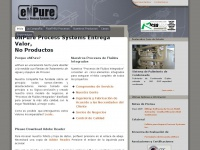 Enpure.com.mx - eNPure Water Treatment Filtration, Purification and Process Systems