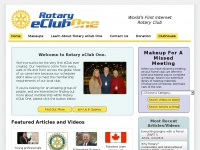 Rotaryeclubone.org - Service - Service  above self - Help where and when needed.