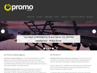 Homepage - On-Promo,Marketing Promocional,Servicios IT, Merchandaising