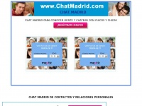 CHAT MADRID, CONTACTOS Y CHAT DE MADRID GRATIS PARA CHATEAR EN MADRID