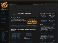 Wowpedia.org - Wowpedia, the World of Warcraft wiki encyclopedia