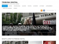 Tribunadigital.tk - Tribuna Digital | Revista de prensa en internet, radio y televisión