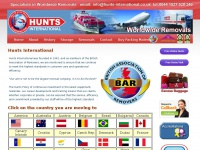 Hunts-international.co.uk - International Removals Company |Removals to France | Removals to Spain
