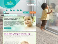 Pampers.rs - PG.com Home: sustainability, company, brands