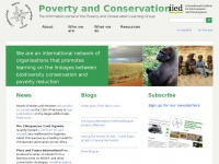 Povertyandconservation.info - PCLG | The information portal of the Poverty and Conservation Learning Group