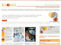 Baoms.org.uk - Home | British Association of Oral and Maxillofacial Surgeons