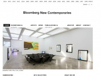 Newcontemporaries.org.uk - Bloomberg New Contemporaries