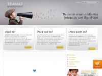 Traductor-sharepoint.es - TRAMAT TRAMAT SharePoint, multilingual translator
