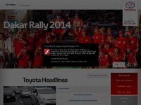 Welcome to the Toyota Motor Europe website