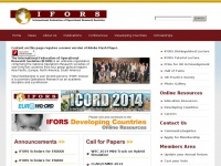 Ifors.org - IFORS, Operations Research, Operational Research, Management Science – Operations Research, Management