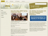 Emsp.org - European Multiple Sclerosis Platform. Raising the voice of people with MS