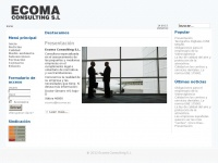 Ecoma.es - Ecoma Consulting S.L
