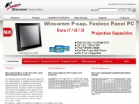 Wincomm.com.tw - Rugged Touch Panel PC - Wincomm Corporation