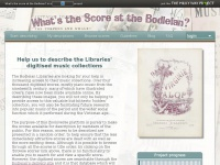 Whats-the-score.org - Whats the score at the Bodleian
