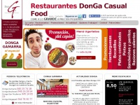 restaurantesdonga.com
