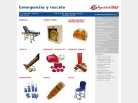 Productos de Emergencia y Rescate | Seguridad Global S.A.