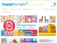 Happythought.co.uk - Craft worksheets, DIY templates, fun activities + papercraft video tutorials