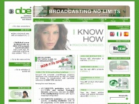 Abe.it - ABE - Advanced Broadcasting Electronics: Digital & Analog TV equipment: transmitters, MPEG-2 encoders, transponders, sat and microwave links