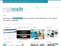 Mnwade.co.uk - Matt Wade | PHP Web Developer Newcastle
