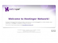 Welcome to hcqq.pl - Managed by Hostinger