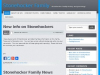 Stonehockerfamily.org - Stonehocker Family - Stonehocker family history and genealogy.