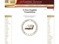 Afaithfulversion.org - A Faithful Version - Online Original Bible Restored