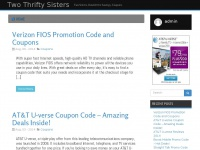 Twothriftysisters.org - Two Thrifty Sisters - Two Sisters, Double the Savings, CouponsTwo Thrifty Sisters - Two Sisters, Double the Savings, Coupons
