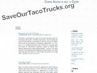 saveourtacotrucks.org