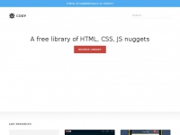 Codyhouse.co - CodyHouse - Free HTML, CSS, JS nuggets