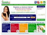 Creare Siti Web e Registrare Domini Internet | Euweb.it