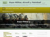 Ropa Militar, Airsoft y Paintball.