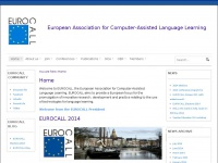 Eurocall-languages.org - Home - EUROCALL