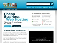 987mb.co.uk - Cheap Web Hosting with Free Domain Name from £1.66