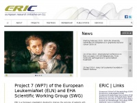ERIC  |  European Research Initiative on CLL: Project 7 (WP7) of the European  LeukemiaNet (ELN) and EHA Scientific Working Group (SWG)