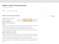 Milliondollardreamreviewed.info - Million Dollar Dream Review - Does It REALLY Make MONEY?!