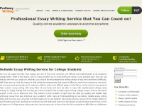 Best Essay Writing Service | ProEssayWriting.org