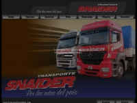 transportesnaider.com