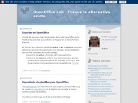 Ooolab.blogspot.de - OpenOffice Lab - Porque la alternativa existe.
