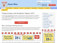 Essayshop.org - Cheap Essay Writing Service