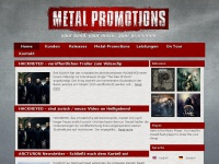 Metal-promotions.de - Metal Promotions - Your Band, Your Music, Your Promotion!
